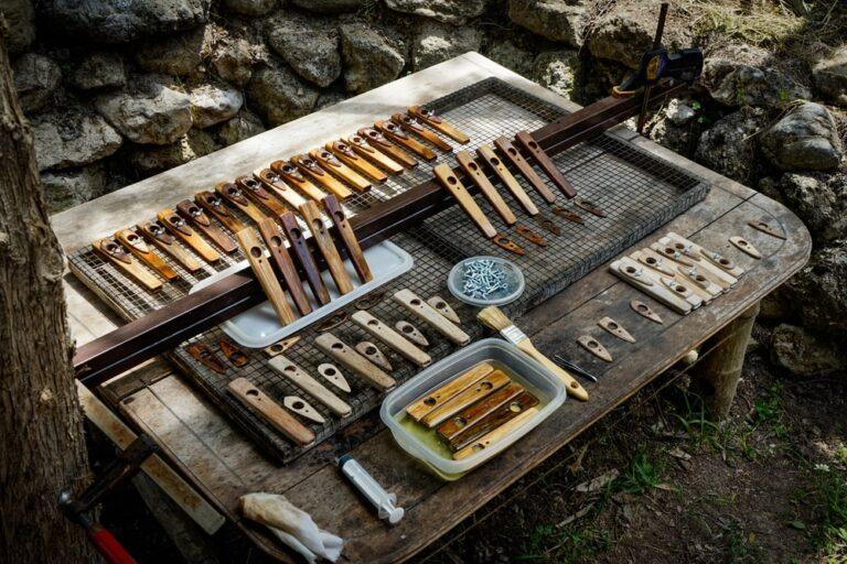 KAZOO - the oiling process